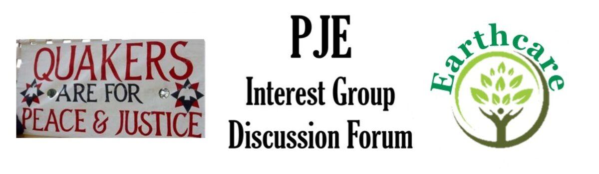 PJ&E Interest Groups